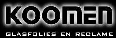 Logo Koomen Glasfolies en Reclame